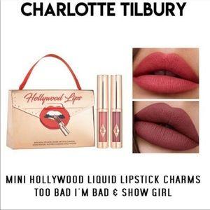 NEW Charlotte Tilbury Mini Hollywood Lips Lipstick